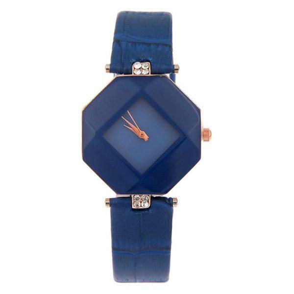 Štýlové dámske modré hodinky