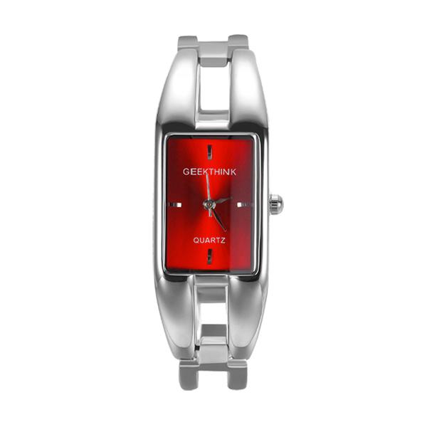 Elegantné dámske červené hodinky - FashionGate.sk 7d3982ab519
