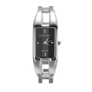 Elegantné dámske čierne hodinky