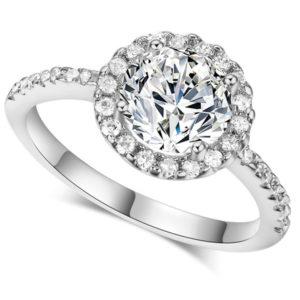Elegantný prsteň s CZ kryštálmi