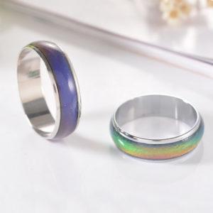 Prsteň meniaci farbu podľa nálady - bez motívu