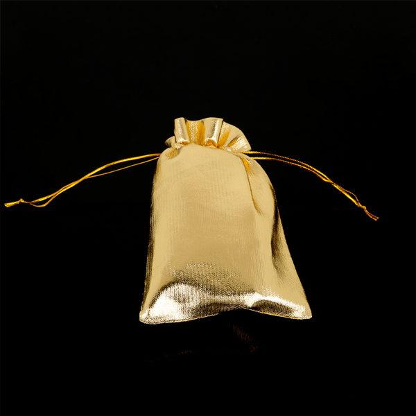 ac5d6a346 Látkové vrecko na šperky - zlaté - FashionGate.sk