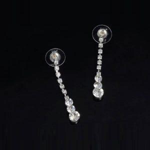 Štýlový set náhrdelník a náušnice s kryštálmi