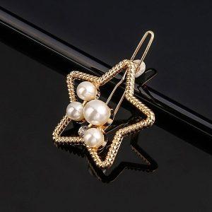 Hviezda s perlami - zlatá
